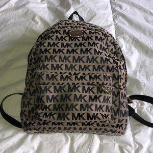 Michael Kors Canvas Backpack